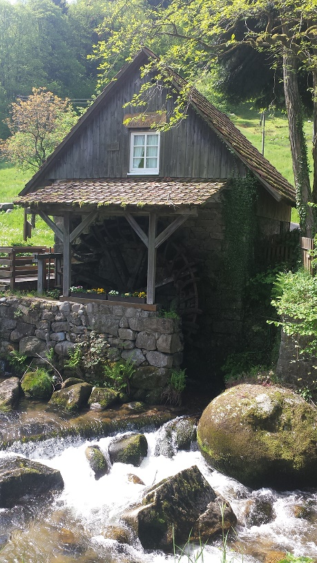 Water mill Black Forest