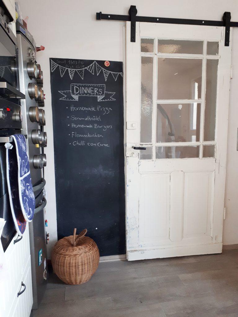 Installing A Vintage Sliding Door Three Sons Later